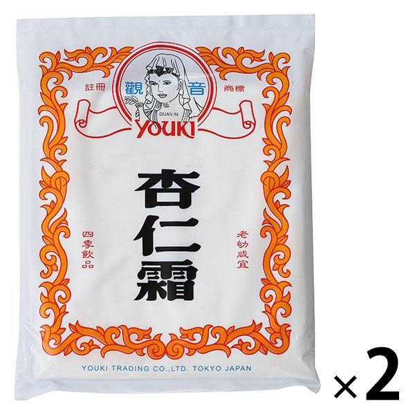 業務用 杏仁霜(きょうにんそう) アーモンドパウダー 400g 1セット(2個入) ユウキ食品 杏仁豆腐の素