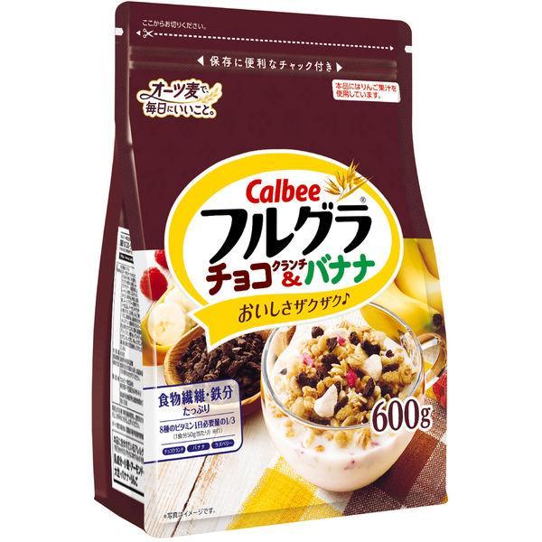 カルビー フルグラチョコクランチ&バナナ 600g 1袋 シリアル グラノーラ