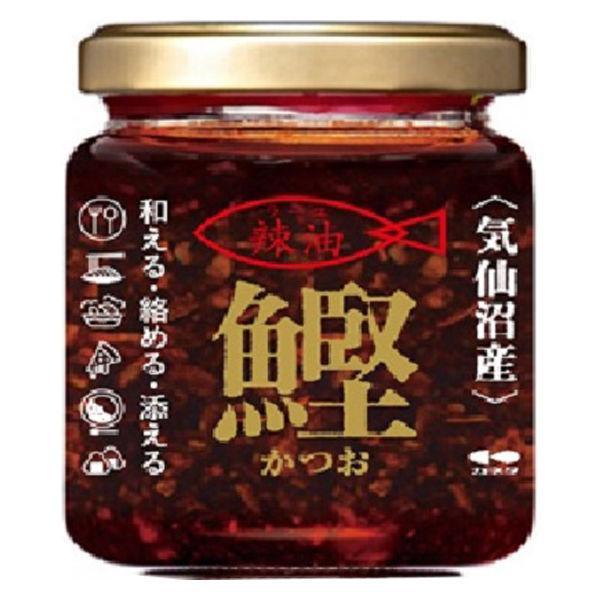 【アウトレット】カネタツーワン 気仙沼産かつお辣油 1個(120g)