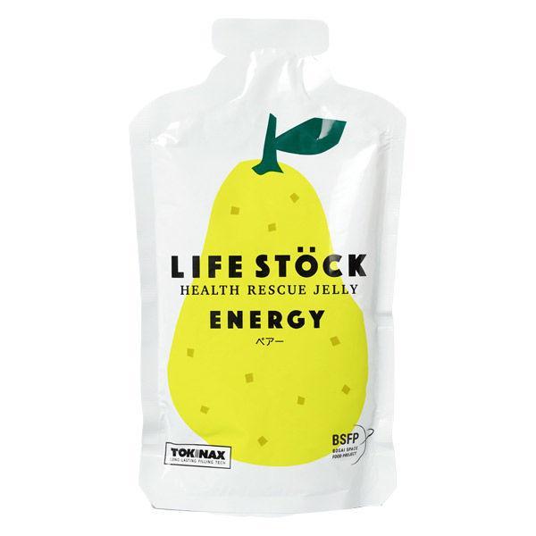非常食 LIFE STOCK 5年保存ゼリー エナジータイプ ペアー(洋梨)味 ワンテーブル 1セット(1個(100g)×2)