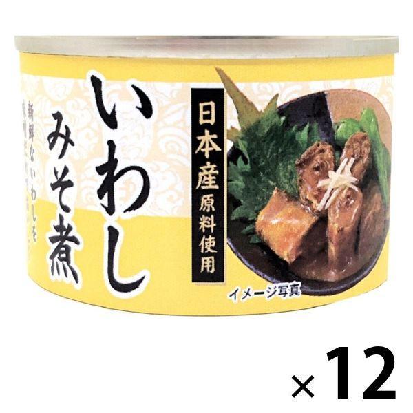 【アウトレット】いわしみそ煮<国産いわし使用> 150g 1セット(12缶) タイランドフィッシャリージャパン