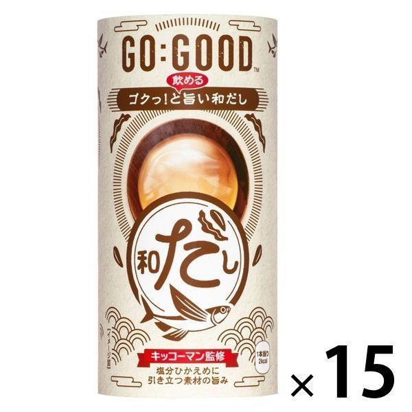 【アウトレット】日本コカ・コーラ GO:GOOD ゴクっ!と旨い和だし 1箱(15缶入)