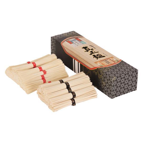 【アウトレット】ドウシシャ 真正麺 揖保乃糸手延素麺・讃岐うどん詰合せ MSM-60 1箱