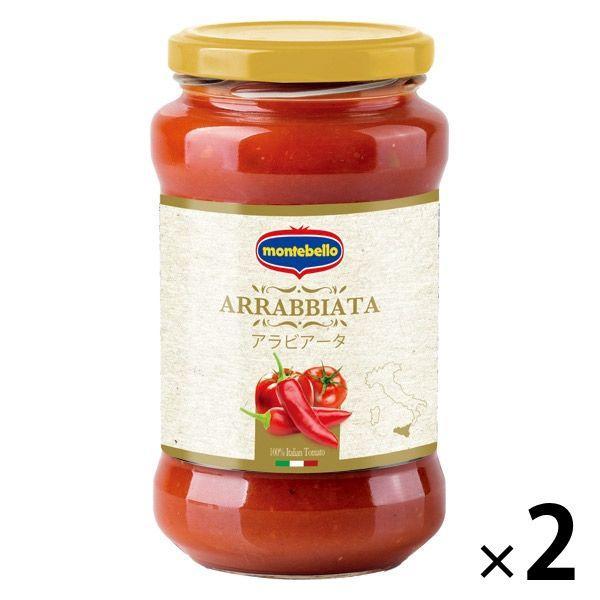 イタリア産 パスタソース・アラビアータ 400g(3〜4人前) 瓶 1セット(2個) モンテベッロ