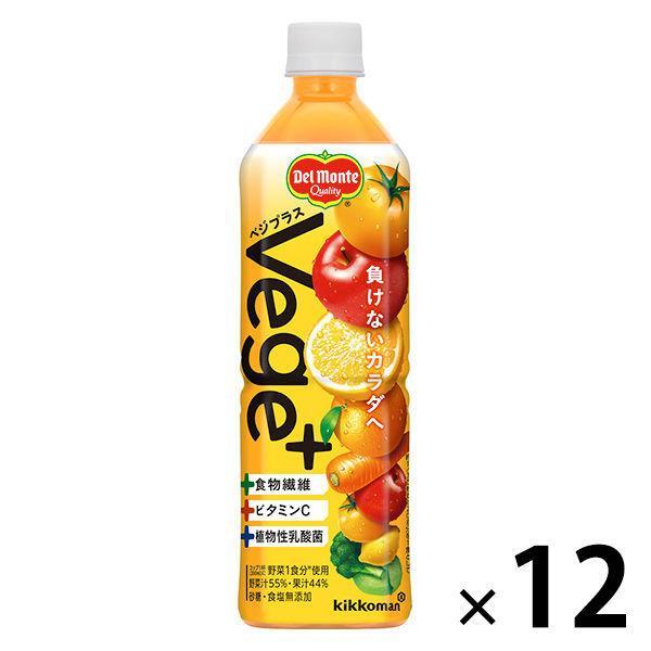 キッコーマン飲料 Vege+(ベジプラス)900g 1箱(12本入)【野菜ジュース】