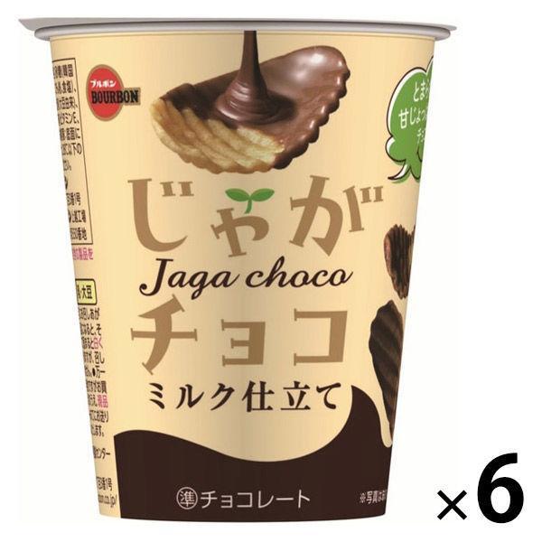 じゃがチョコ 6個 ブルボン チョコレート ポテトチップス スナック菓子