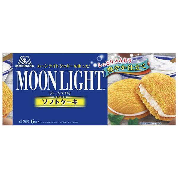 ムーンライトソフトケーキ 6個 6箱 森永製菓 洋菓子