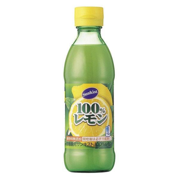 ミツカン サンキスト100%レモン 300ml 1個
