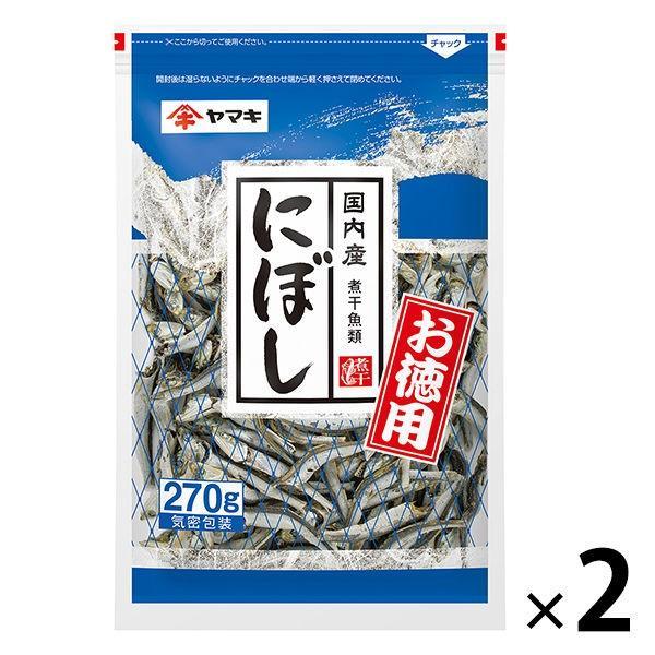 ヤマキ お徳用にぼし 270g 2袋