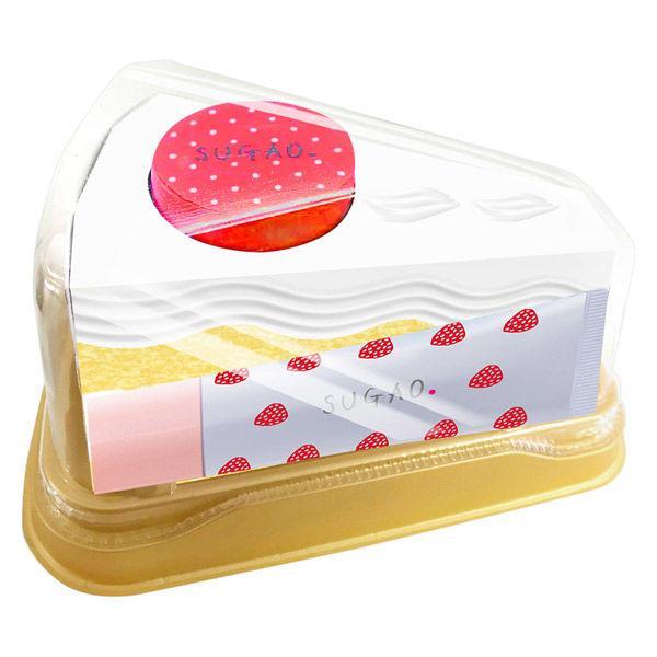 SUGAO スガオ(SUGAO) SUGAO ショートケーキメイクコフレ ピュアホワイト チーク 4.4gの画像