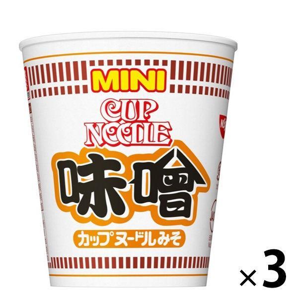 日清食品 カップヌードル 味噌ミニ 3個