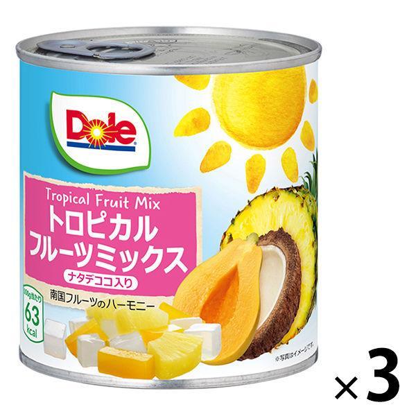 ドール トロピカルフルーツミックス ナタデココ入り 430g 1セット(3個)