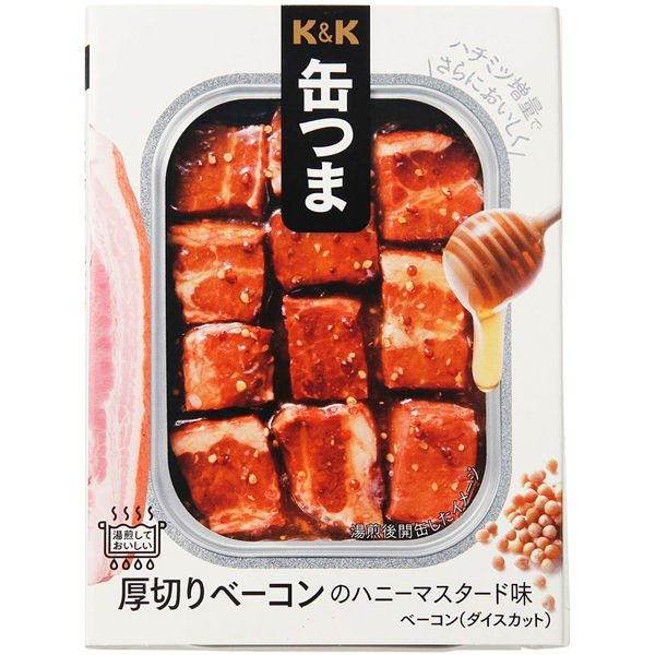 国分グループ本社 KK 缶つま 厚切りベーコンのハニーマスタード味 1個