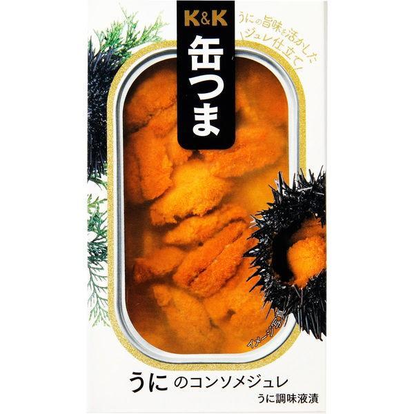 国分グループ本社 KK 缶つま うにのコンソメジュレ 1個