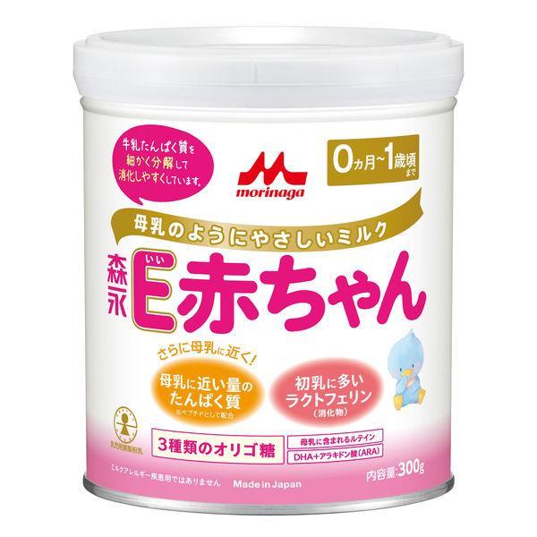 0ヵ月から 森永 乳児用ミルク E赤ちゃん(小缶) 300g 1缶 森永乳業