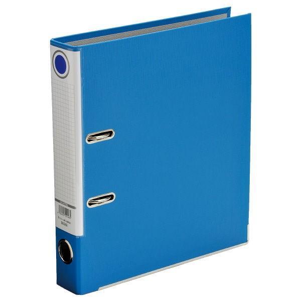 レバー式アーチファイル A4タテ 背幅50mm ブルー SGLAF5BL ハピラ