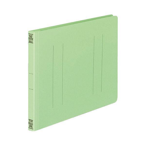 コクヨ(KOKUYO) フラットファイルV B5ヨコ 2穴 約150枚収容 緑(グリーン) 10冊 フ-V16G