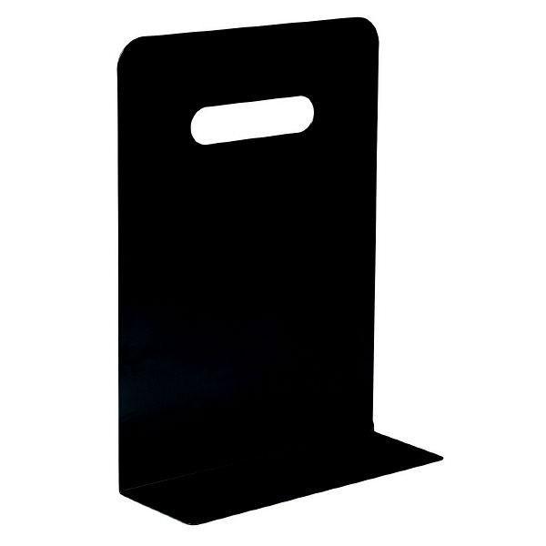 リヒトラブ ブックエンド・ハイタイプ(マグネット付) 黒(ブラック) 7351-24 1セット(4個:1個×4)