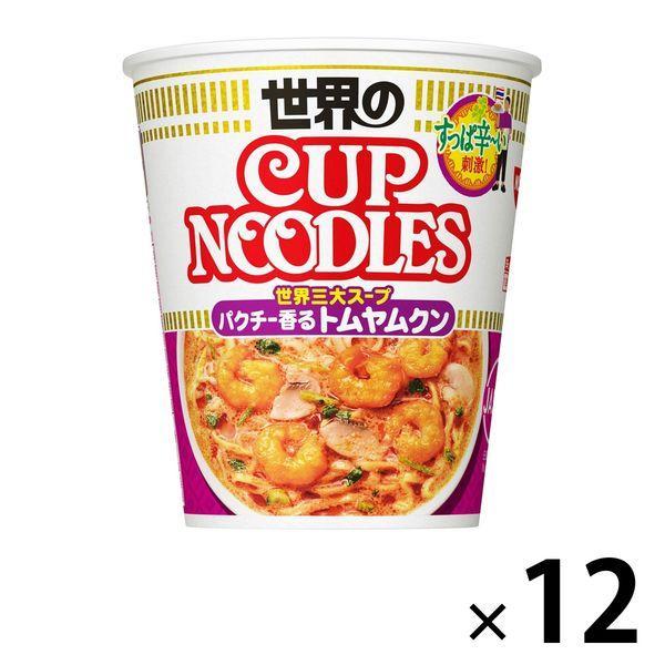 日清食品 カップヌードル トムヤムクンヌードル 1セット(12食)