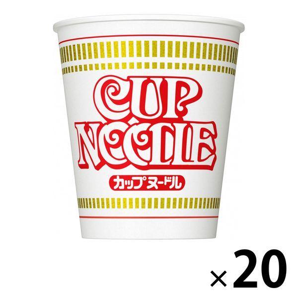 日清食品カップヌードル20食カップ麺
