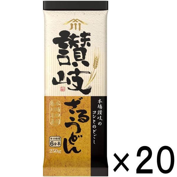 川田製麺 讃岐ざるうどん (250g) ×20個