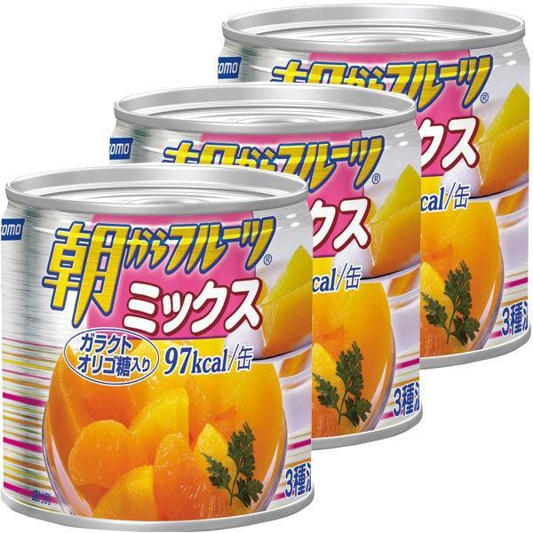 はごろもフーズ 朝からフルーツミックス 190g 1セット(3缶)
