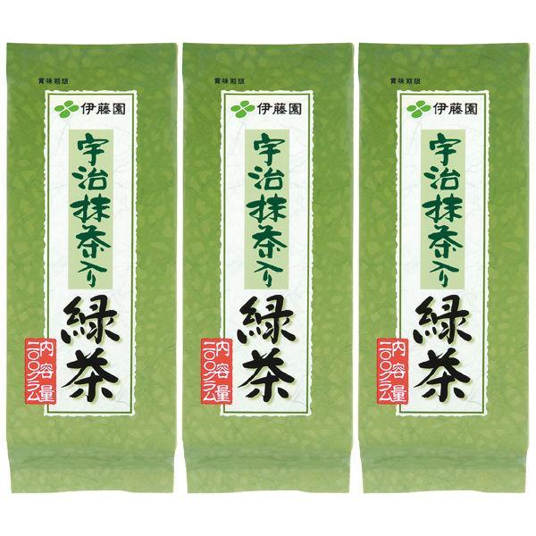 水出し可伊藤園宇治抹茶入り緑茶1セット(200g×3袋)