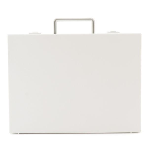 無印良品 自立収納できるキャリーケース・A4用・ホワイトグレー 02815783 良品計画