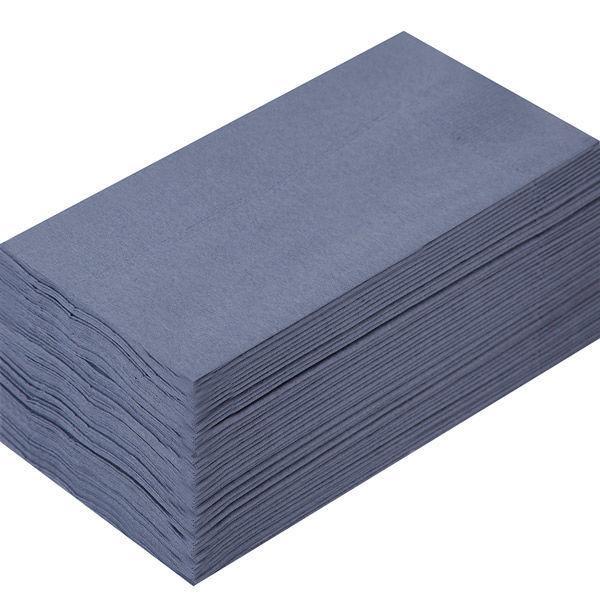 溝端紙工印刷 カラーナプキン 8つ折り 2PLY キャビア 1セット(200枚:50枚入×4袋)