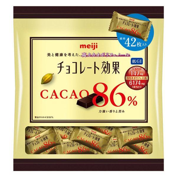 チョコレート効果カカオ86%大袋 1袋 明治 チョコレート