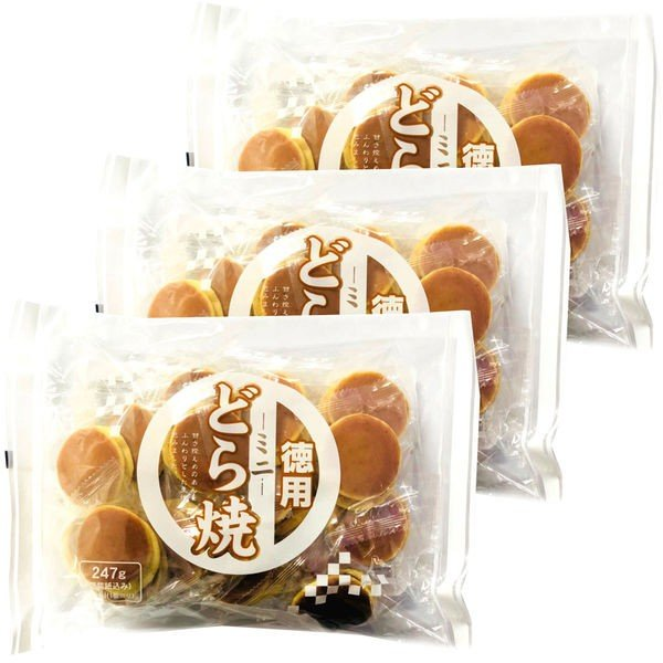 ローヤル製菓 徳用ミニどら焼 1セット(3袋)