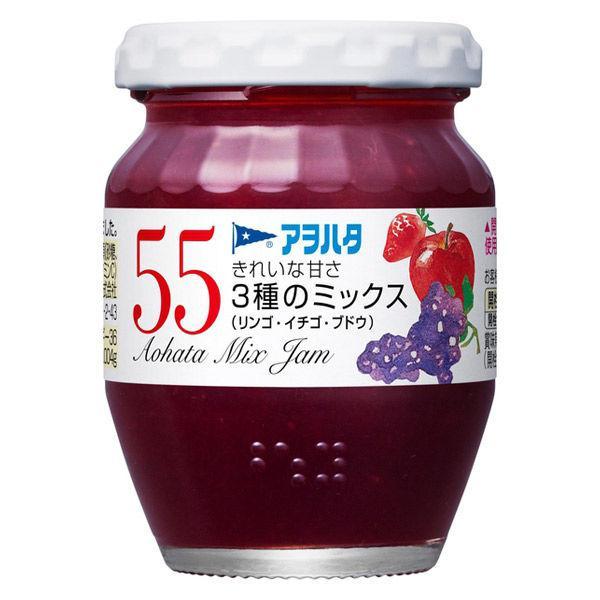 アヲハタ 55 3種のミックス(リンゴ・イチゴ・ブドウ)150g 1個