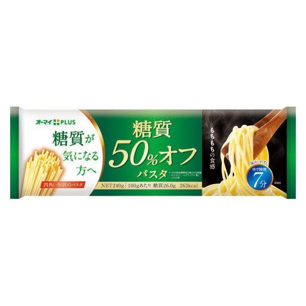 ニップン オーマイPLUS 糖質50%オフパスタ 1個