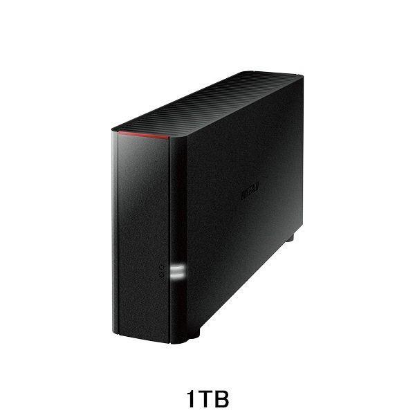 バッファロー ネットワーク対応HDD(NAS) 1TB スタンダードモデル 1ドライブ LS210D0101G 1台