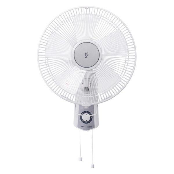 YAMAZEN 30cmひも式壁掛け式扇風機 YWS-J306(W) 1個