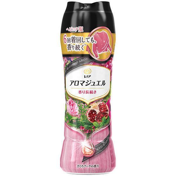 レノアハピネス アロマジュエル ザクロブーケの香り 本体 520ml 1個 P&G