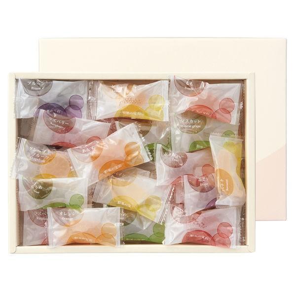 三越伊勢丹 彩果の宝石 フルーツゼリーコレクション 1箱50個入 伊勢丹の紙袋付 手土産ギフト 洋菓子 母の日 父の日 敬老の日