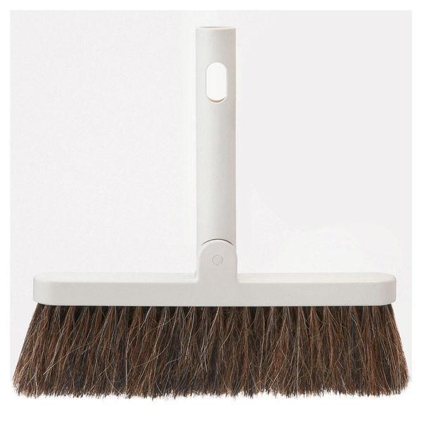 無印良品 掃除用品システム・ほうき 約幅22×奥行3×高さ23cm 82107173 良品計画