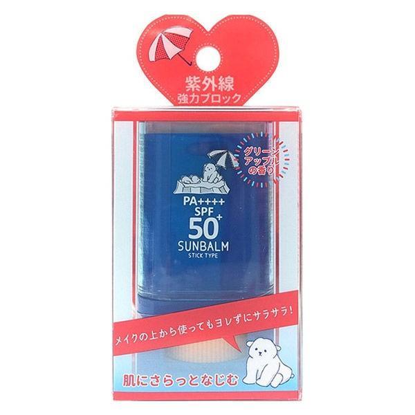 フレッシュUVサンバーム グリーンアップルの香り 15g SPF50+ PA++++