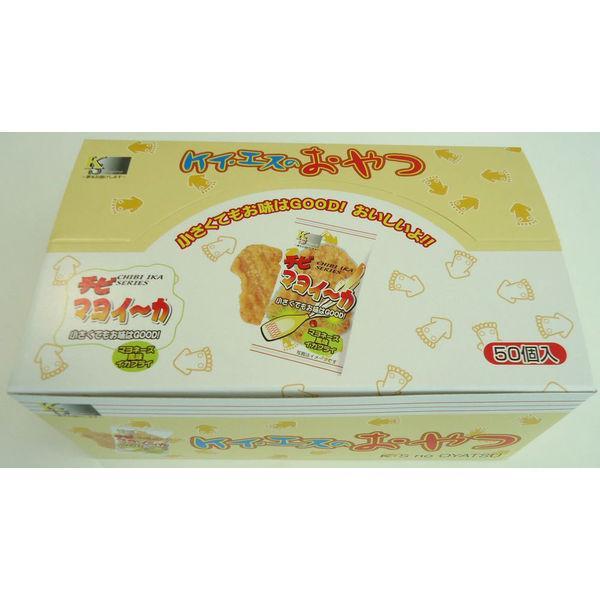 ケイエスカンパニー おやつ箱ちびマヨイーカ 1箱(50枚)