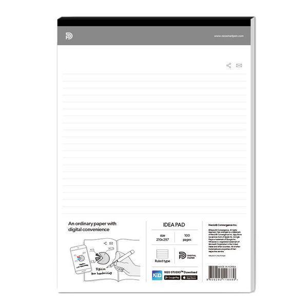Neo smartpen対応 アイディアパッド(ノートパッド) A4サイズ 1冊 NDO-DN110