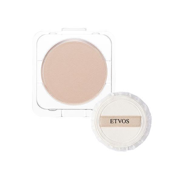 ETVOS(エトヴォス)リフィル・パフ付ミネラルシルキーベールナチュラルSPF20/PA++