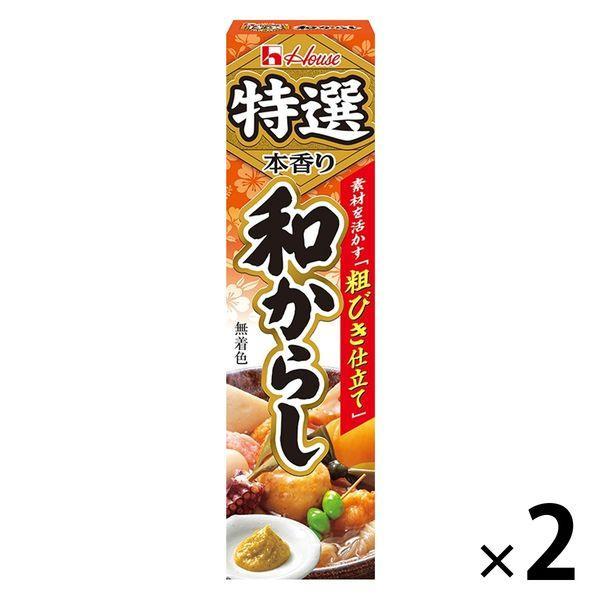 ハウス食品 特選本香り和からし 42g 2個
