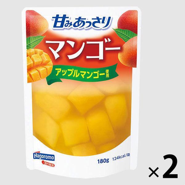 はごろもフーズ 甘みあっさりマンゴー(パウチ) 180g 2個