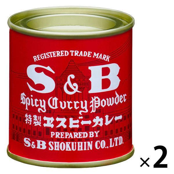 エスビー食品 カレー缶 37g 2個