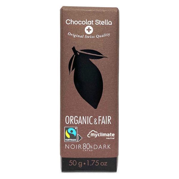 ステラ オーガニック ダークチョコレート カカオ80% 1個 輸入菓子 バレンタイン