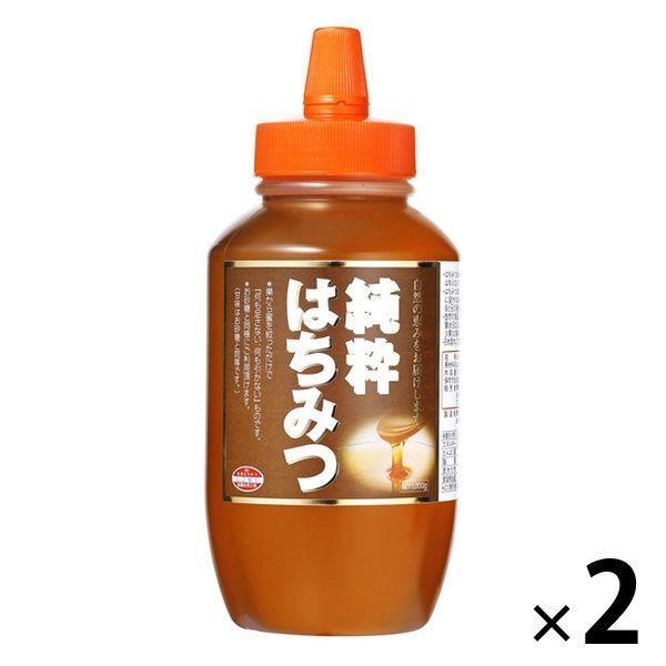 大容量 純粋はちみつ 1kg 2個 梅屋ハネー 蜂蜜