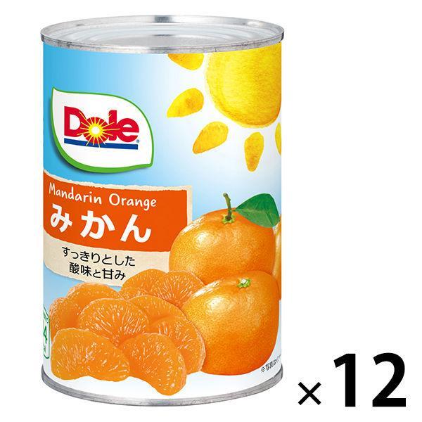 ドール みかん 缶425g 12個