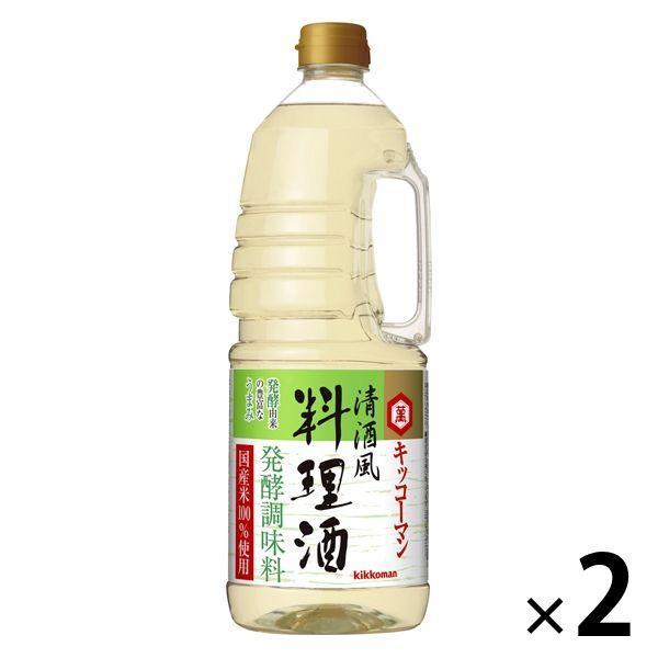 キッコーマン 清酒風料理酒 1.8L 2本