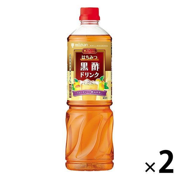 ミツカン ビネグイットはちみつ黒酢ドリンク 6倍濃縮タイプ (業務用) 1000ml 2本